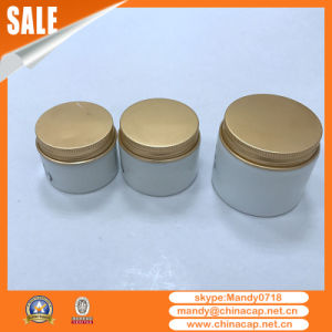 China Supplier Ceramic Glass Jar Aluminum Screw Cap pictures & photos