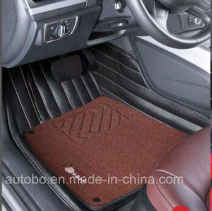 Car Floor Mat 3D with 5-Layer Leatherette pictures & photos