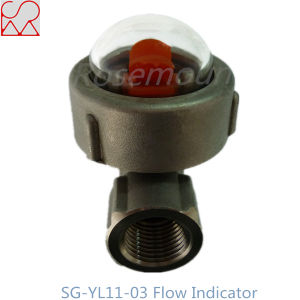 Tianhe Micro Stainless steel Sight Oil Flow Indicator with Blade pictures & photos