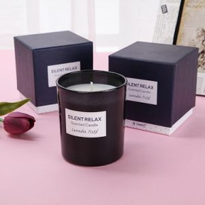 Luxury Scented Soy Glass Candle in Gift Box pictures & photos