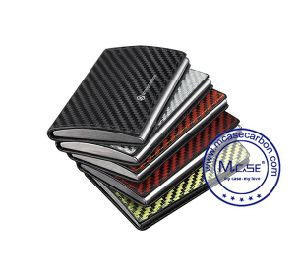 Accept Custom Order Noble Carbon Fiber Box Foldable Card Box pictures & photos