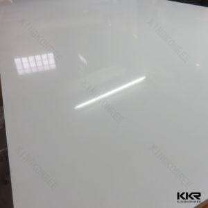 Wholesale 2cm Pure White Artificial Stone Quartz Slab pictures & photos
