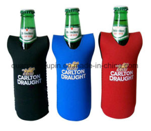 OEM Neoprene Advertising Promotional Beer Bottle Sleeve Cover pictures & photos