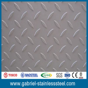 201 Diamond Stainless Checkered Steel Plate 6mm pictures & photos