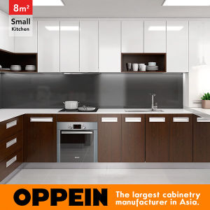 8 Square Meters U-Shaped Modern Style Small Kitchen (OP16-HPL05) pictures & photos