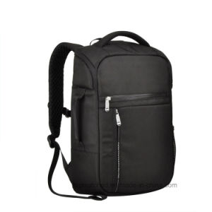Classic Black Outdoor Travel Bag Fashion Lesiure Sport Laptop School Backpack for Boy pictures & photos
