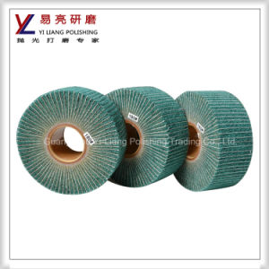 Nylon Flap Wheel Polishing Steel/Copper/Inox Surface Satin/Drawing/Hairline pictures & photos