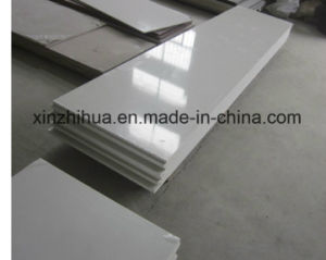 White Quartz Counter Top Artificial Marble pictures & photos