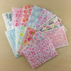 China Manufacture Supply 1ply, 2ply, 3ply Non-Woven Children Face Mask pictures & photos