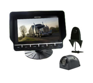 7 Inch Color CCTV Camera System with Quad Monitor pictures & photos