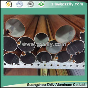 O-Shaped Wood Grain Aluminium Baffle Ceiling for Building Decoration pictures & photos