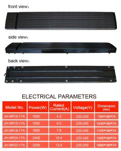 New Designed Electric Radiant Infrared Panel Heater for Outdoor Tent pictures & photos