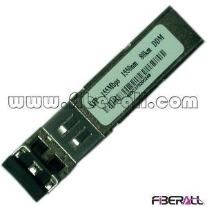 SFP Fiber Transceiver 155Mbps 1550nm Dfb 80km LC Ddm pictures & photos