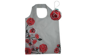 Foldable Gifts Shopper Bag, Flowers Rose Style, Reusable, Lightweight, Tote Bags, Grocery Bags and Handy, Promotion, Accessories & Decoration pictures & photos