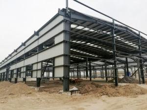 Prefab Steel Construction for Workshop Warehouse pictures & photos