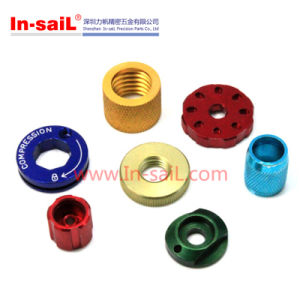 Aluminium Alloy CNC Machining Pipe Connectors pictures & photos