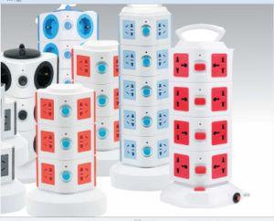 New Tower Multi Power Socket /Surge Protection USB/UK/Us/EU/Au Plug pictures & photos