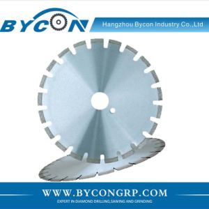 BYCON-5 laser welded concrete diamond cutting disc for masonry pictures & photos