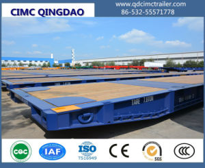 Cimc Terminal Port 20FT/40FT/62FT Cargo/Container Roll Trailer Truck Chassis pictures & photos