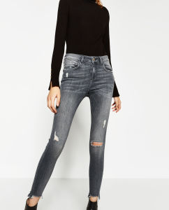 New Fashioned Women Skinny Trousers pictures & photos