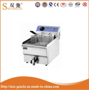 Commercial Stainless Steel 1-Tank 1-Basket Electric Deep Fryer pictures & photos