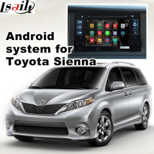 Car Android Navigation Video Interface for Toyota Sienna Cast Screen pictures & photos