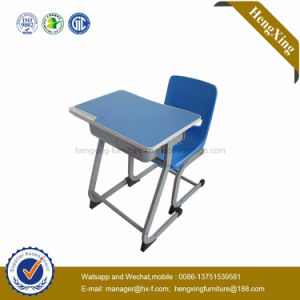 Modern School Desk and Chair Cheap School Furniture (HX-5CH243) pictures & photos