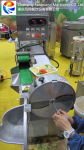 Multifunction Vegetable Cutting Machine, Double Heads Vegetable Cutting Machine pictures & photos