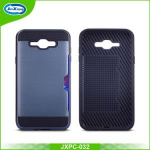 S8 Case Hybird Armor Rubber TPU Cover for Samsung & iPhone with Card Slot pictures & photos