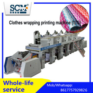 Cloths Wrapping Paper Printing Machine (thickness 17g) pictures & photos