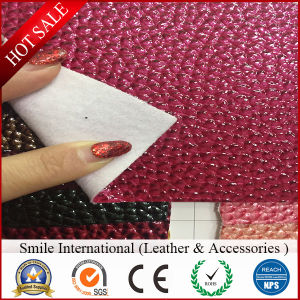 Crocodile PVC Artificial Leather Can Do for Handbags pictures & photos