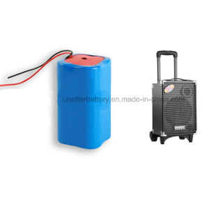 Lithium Battery Pack 7.4V 4400mAh 18650 Battery for Power Supply pictures & photos