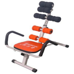 Home Use with Two Springs Ab Exercise Chair Workout Ab Core Trainer pictures & photos
