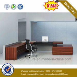 2.4m Luxury Office Furniture MDF L Shape Office Desk (HX-5116) pictures & photos