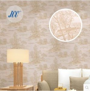 Seamless Wallpaper Fabric Embossing Ancient Chinese Style for Study Living pictures & photos