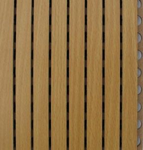 Wooden Grooved Acoustic Panel pictures & photos