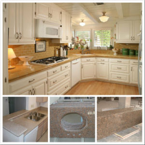 Popular Solid Surface Granite Kitchen Countertop pictures & photos