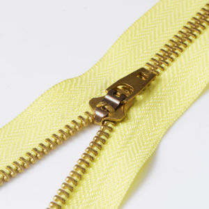#5 Brass Jeans Zippers pictures & photos