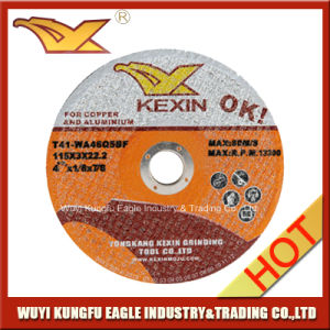 Factory Selling Abrasive Grinding Wheel for Copper & Aluminium pictures & photos