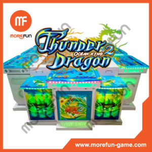 Thunder Dragon King of Treasures Fish Hunter Arcade Game Machine pictures & photos