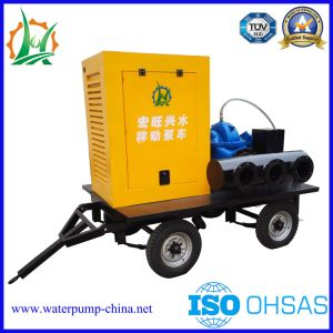 Mobile Trailer Double Suction Water Supply Equipment Pump pictures & photos