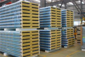 Wholesale EPS Sandwich Panel Insulated Steel Roofing Panels pictures & photos