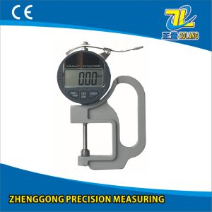 0-25.4/0.01mm Digital Thickness Gauge pictures & photos