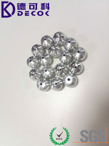 5mm 6mm Polished Surface Threaded Aluminum Sphere pictures & photos