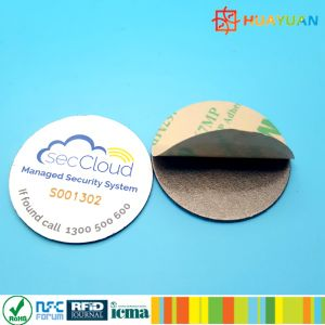Programmable 13.56MHz ISO18092 NTAG213 NFC Tag for epayment pictures & photos