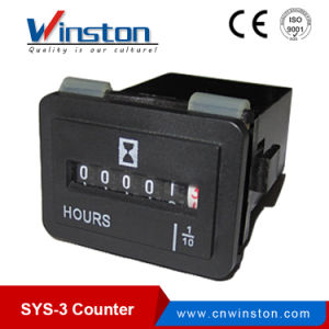 Sys-3 AC 100-250V 0.3W Digit Digital Counter Meter pictures & photos