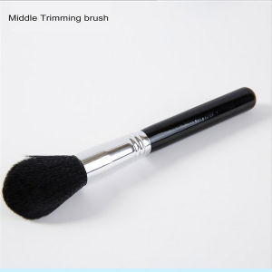 Professional Soft Fiber Angled Flat Top Single Foundation Powder Brush pictures & photos