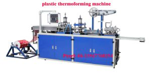 Automatic Plastic Cover Forming Machine (model-500) pictures & photos