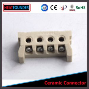 4-Way 8-Hole Ceramic Terminal Block pictures & photos