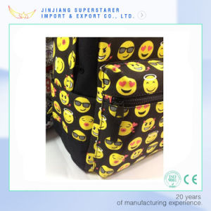 Fashion Custom Emoji Backpack School Backpacks pictures & photos